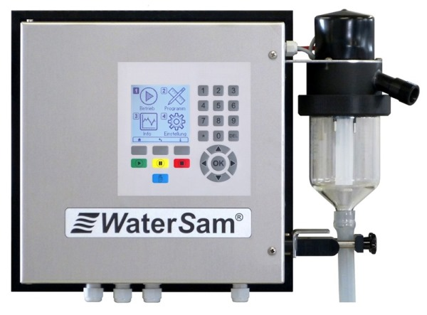 Wandmontierter Probenehmer - Wall-Mounted Automatic Water Sampler WS 98